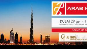 NOVAESTETYC al congresso ARAB HEALTH a DUBAI dal 29 gennaio al 1° febbraio 2018