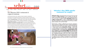Valentine's Day 2020: popular treatments for couples